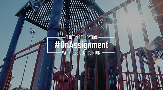 #OnAssignment with President Clinton, Series for Social